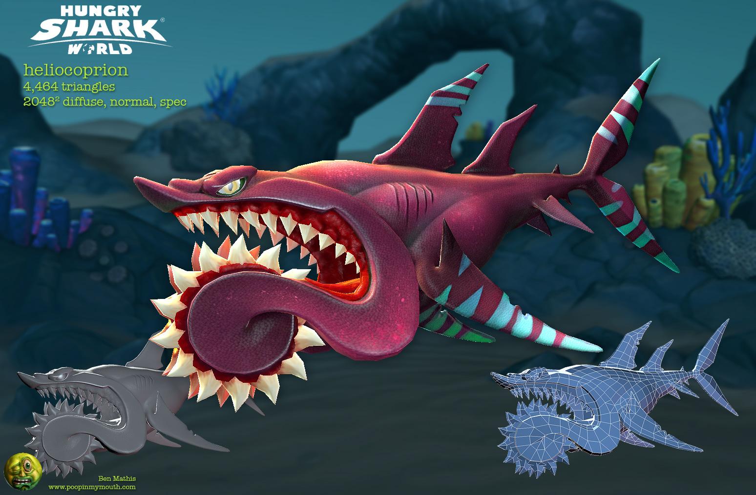 Art Dump - Poopinmymouth - Hungry Sharks World — polycount